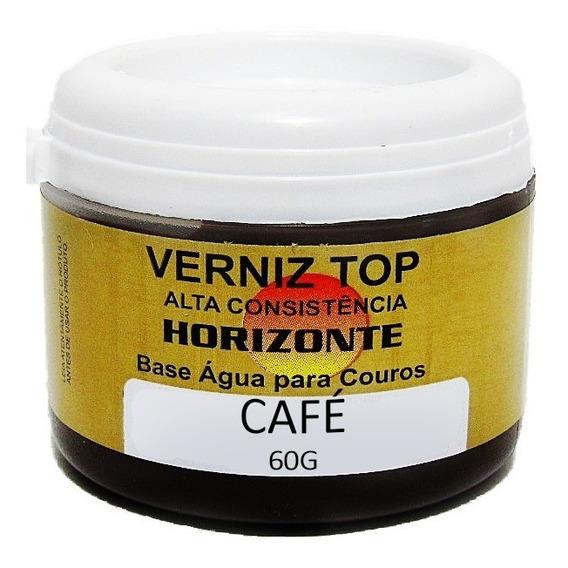 Creme Couro Cafe Couro Sapato Tenis Bota Verniz Top 60g