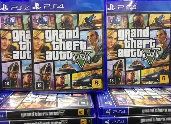 Gta Grand Theft Auto V Ps4 Mídia Física Envio Imediato