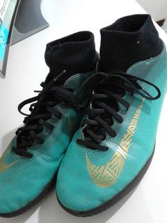 Chuteira Society Nike Mercurial Superfly 6 Club Cr7 Tf