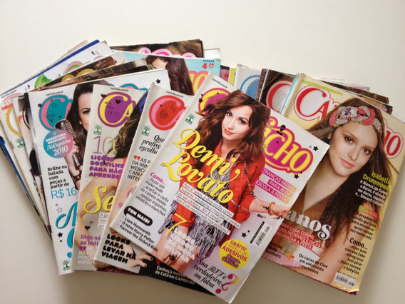 Lote De Revistas Capricho Com 24 Unidades N°1