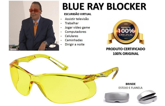 Oculos Blue Ray Blocker Luz Azul Dr Lair Ribeiro 3 Cores