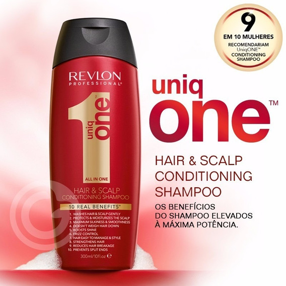 Shampoo 300ml Revlon Professional Uniq One