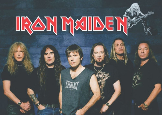 Poster Cartaz Iron Maiden Rock And Roll