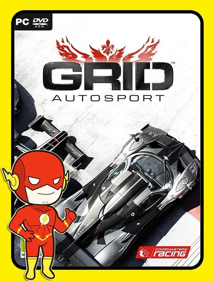 Grid Autosport Pc - Steam Key (envio Flash)