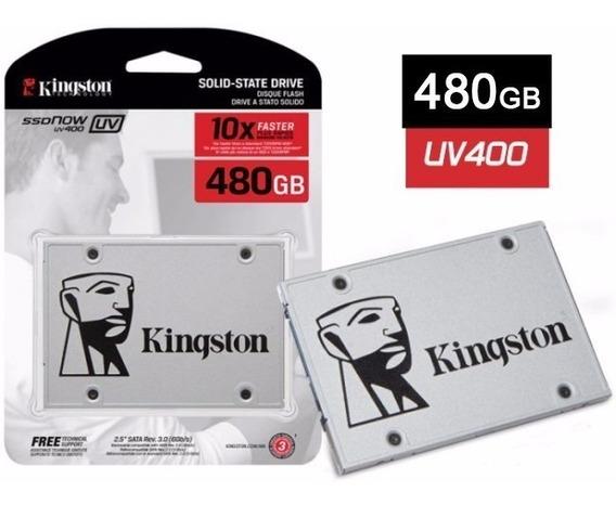 Hd Ssd 480gb Kingston Uv400 -550mbs/510mbs Envio Rapido