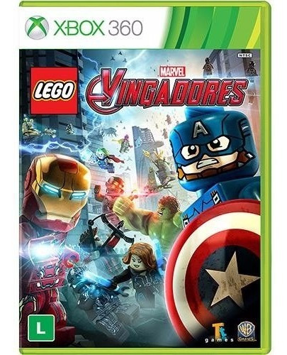 Game Lego Marvel Vingadores Xbox 360 Cd Midia Fisica Dvd Lac
