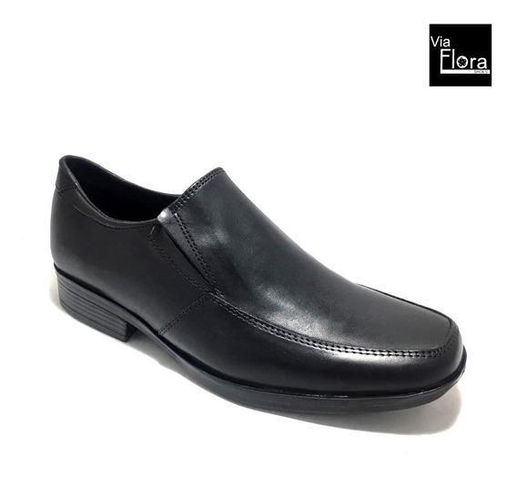 Zapatos De Vestir Con Elastico Cuero Envio Gratis (23/1683)