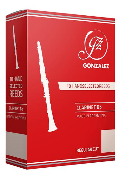 Cañas Gonzalez Rc Para Clarinete Sib