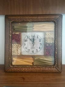 Env Barato: Reloj De Pared Madera Quartz New Century Vintage