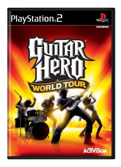 Guitar Hero World Tour Ps2 Mídia Física Pronta Entrega