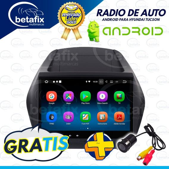 Radio Android Hyundai Tucson Ix35 10.2p 4gps 2usb Betafix Ec