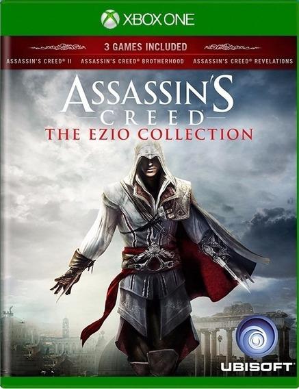 Assassins Creed The Ezio Collection Xbox One Mídia Física