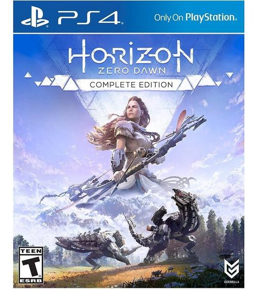 Horizon Zero Dawn Complete Edition Ps4 Mídia Física