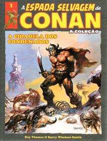 A Espada Selvagem De Conan Salvat Volume 1 Capa Dura