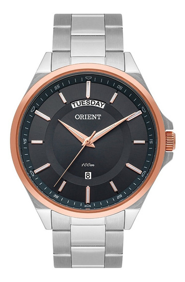 Relógio Orient Masculino Analogico Mtss2007 Prata