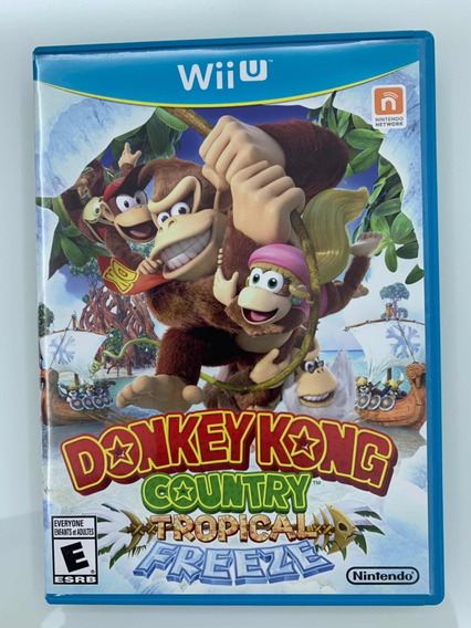 Donkey Kong Country Tropical Freeze Wii U Impecavel