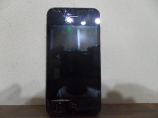 iPhone 4s A1387 Usado Original Tela Quebrada Op Vivo