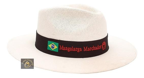 Chapéu Branco Country Cavalo Mangalarga Marchador