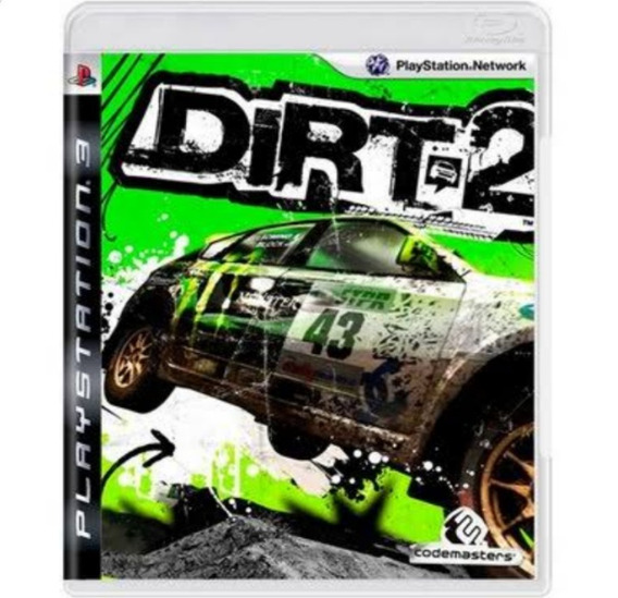 Dirt 2 Ps3 Original Seminovo