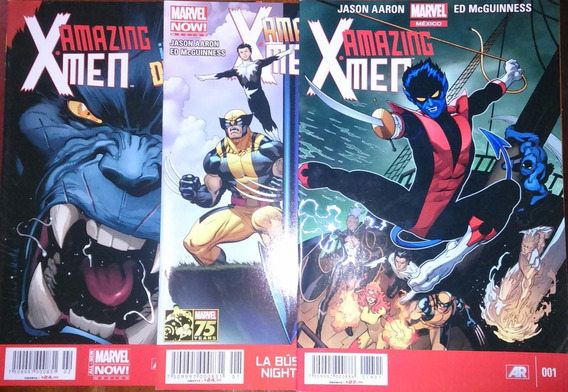 Amazing X Men # 2,3 Televisa