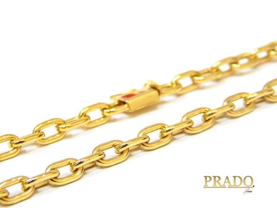 Corrente Masculina Cartier Em Ouro 18k 70cm