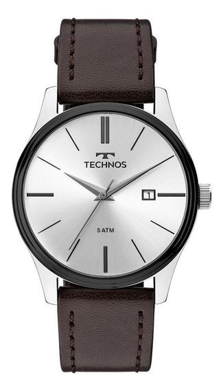 Relógio Technos Masculino Steel Prata 2115mpp/1k