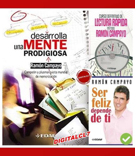 Desarrolla Una Mente Prodigiosa - Ramon Campayo + 2 L