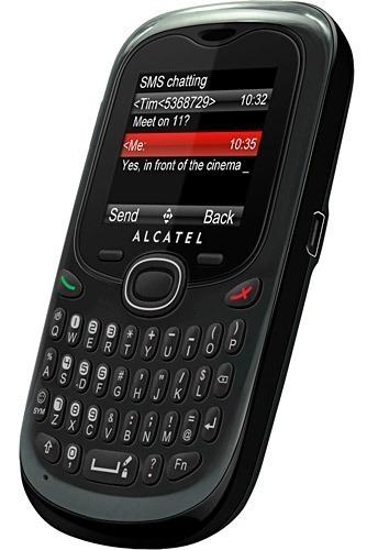 Alcatel Onetouch Ot255 Novo Funciona Apenas Vivo Pratico