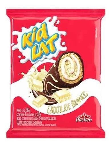 Bolinho Kidlat Atacado 20 Pacotes 152g Chocolate Branco