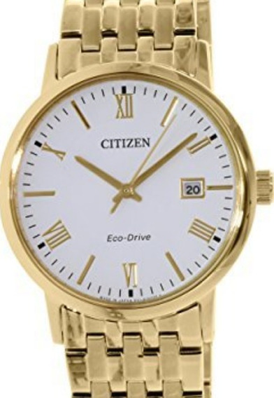 Reloj Citizen Eco Drive, Dorado Bm6772-56a Envio Gratis