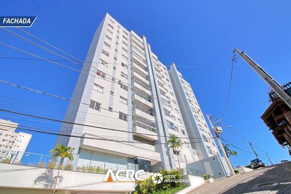 Acrc Imóveis - Apartamento Com Sacada E Vista Panorâmica Para Venda No Bairro Velha - Ap03546 - 67869915