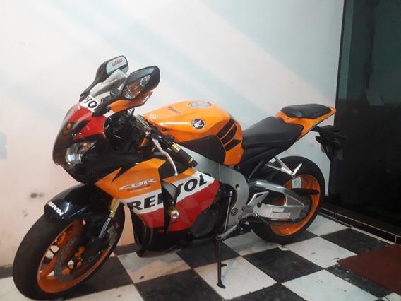 Honda Cbr 1000rr Repsol 2011 Laranja Tebi Motos
