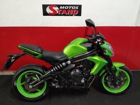 Kawasaki Er6n Er 6n Er-6n Er6 N 2013 Verde