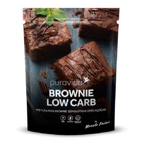 Mix Para Brownie Low Carb 400g - Puravida