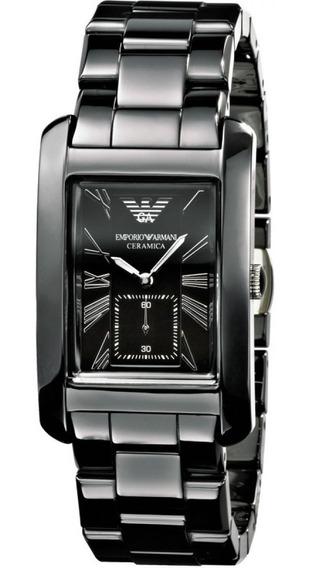 Relógio Emporio Armani Masculino Cerâmica Original Nf Ar1406