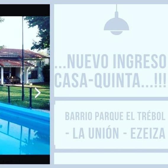 Casaquinta De1090 M2 ### Barrio Parque El Trebol