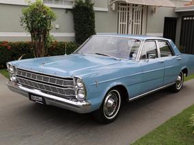 Ford Galaxie 500 1967 Placa Preta Impecável
