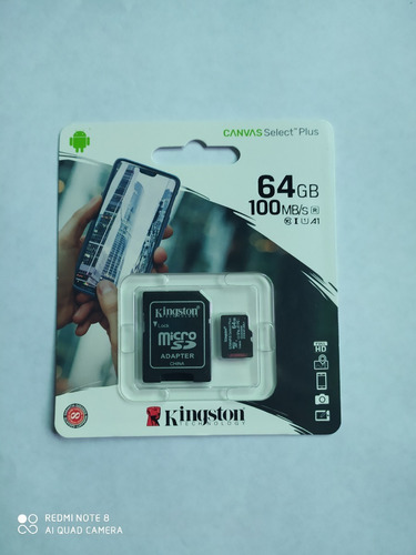 Microsd Kinsgton  64 Gb 100% Original Clase10 100% Selladas