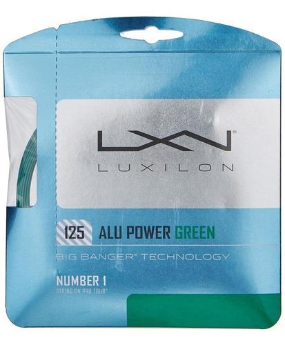 Cuerda Encordado Luxilon Alu Power 12.2 Mts 1.25mm