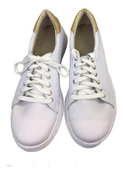 Zapatillas Cómodas Para Damas Modelo Cla /blanca