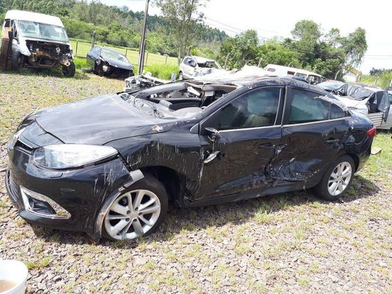 Sucata Renault Fluence 2.0 16v Flex 2016 Rs Caí Peças