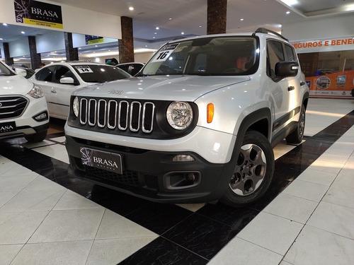 Imagem 1 de 15 de Jeep Renegade Sport 1.8 16v Flex 4p Automática C/ Couro