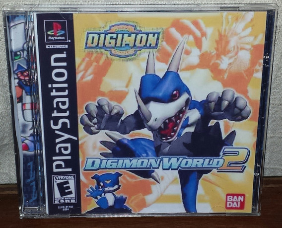 Digimon World 2 Patch Ps1,ps2 E Ps3