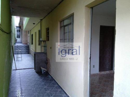 Casa Com 1 Dormitório Para Alugar, 40 M² Por R$ 850,00/mês - Americanópolis - São Paulo/sp - Ca0441