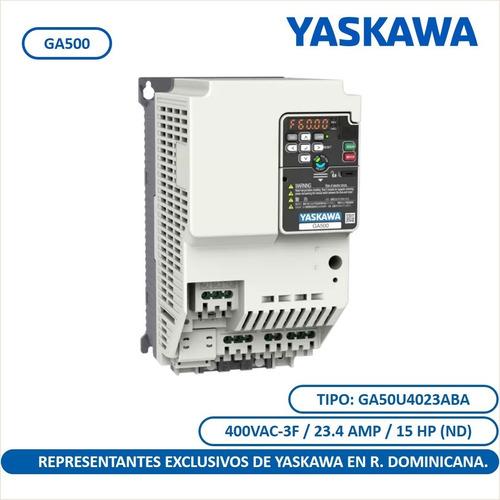 Ga500 15 Hp Variador De Frecuencia Yaskawa Uso Industrial
