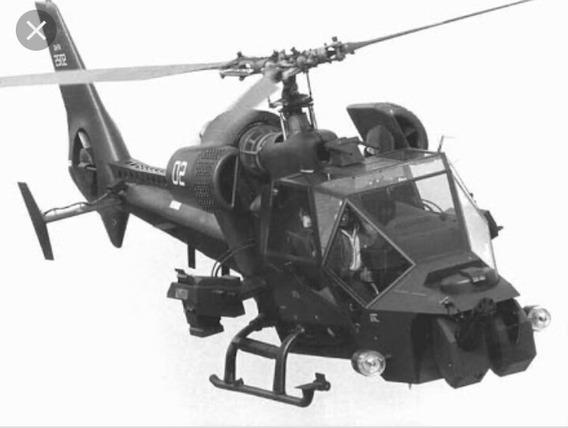 Helicoptero Trovao Azul 1/32 Em Metal E Plast
