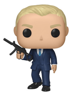 Figura Funko Pop Movies: James Bond S2 - Daniel Craig