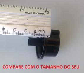 Botão Inox Do Timer Air Fryer Mondial Naf-03 Naf-03i Naf-05