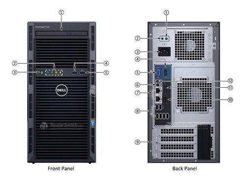 Servidor Dell Poweredge T130