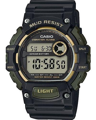 Reloj Casio Digital 10y Mudresist Hombre E-watch